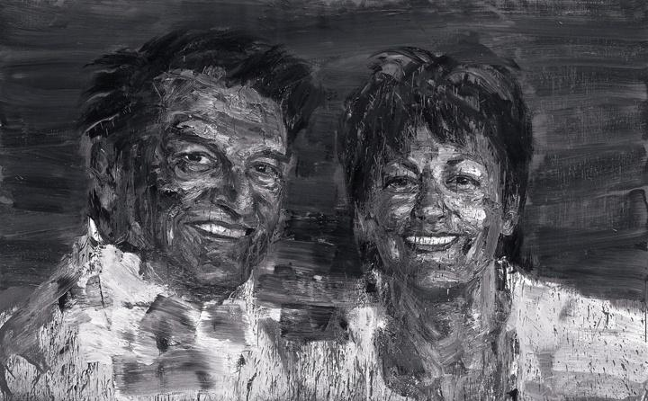 Portrait of Myriam and Guy Ullens, 2008